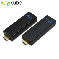 Kaycube W2H Nano 1080P 3D Wireless HDMI Extender Video Audio Transmitter Kit 100FT Mini Wireless HD Transmitter/Teceiver Newest