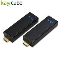 Kaycube w2h Nano 1080 P 3D Беспроводной HDMI удлинитель аудио видео передатчик Комплект 100ft мини Беспроводной HD передатчик/teceiver новые
