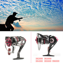 12+1BB DB2000-6000 Metal Front Drag Spinning Fish Carp Reel Fishing Tackle High Quality