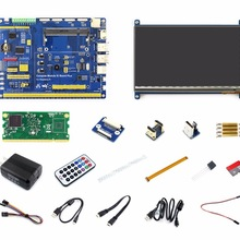 Raspberry Pi Compute Module 3 Lite Development Kit Type B With Compute Module 3 Lite 7inch HDMI LCD, Power Adapter Micro SD Card