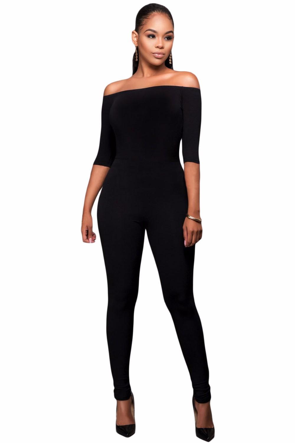 Black-Bardot-Neckline-Fashion-Jumpsuit-LC64193-2-1
