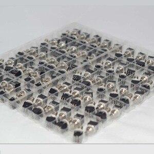 Image 2 - 10 x 3PDT 9PIN Fuß Schalter Für Effekte pedal Box Stomp, True Bypass Gitarre Zubehör