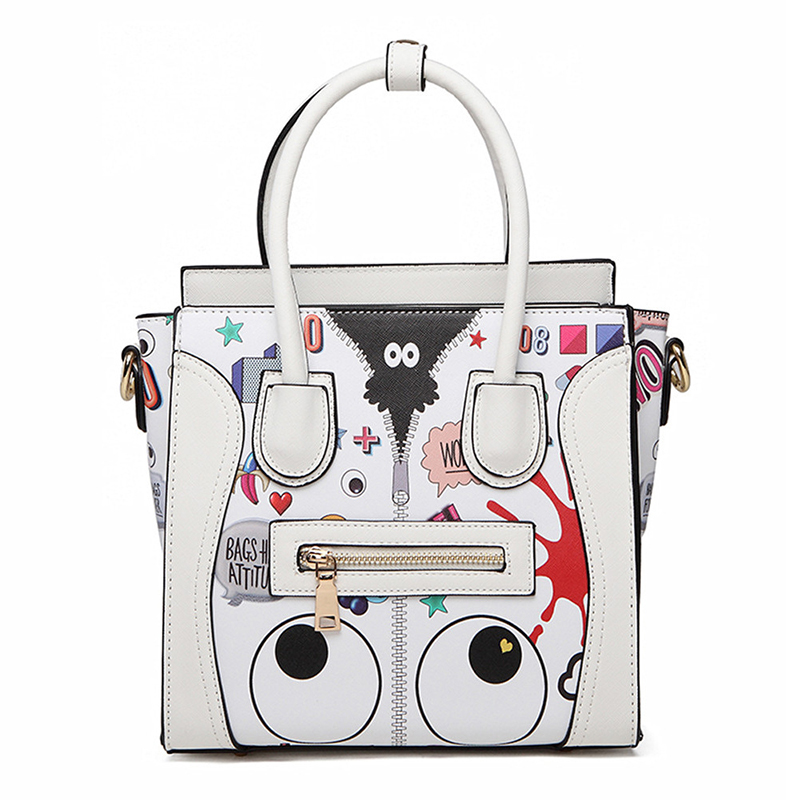 Pink sugao famous brand handbags luxury handbags women bags designer shoulder bags mini purses and handbags cartoon cute smiling