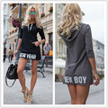 3/4 Sleeve Women Hoodies