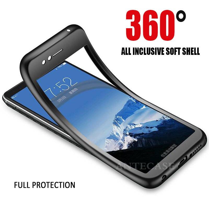360 Full Cover Phone Case For VIVO X21 X20 V9 V5 V7 Plus Case VIVO Y53 Y55 Y66 Y67 Y69 Y75 Y79 Y85 Y83 Y81 Cover Silicone Case
