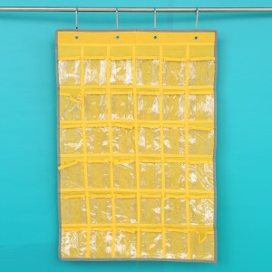 36 grid phone hanging bags Jewelry Dormitory room receive Multilayer