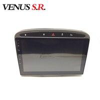 VenusSR Android 8.1 2.5D car dvd for peugeot 308 408 2010 2014 multimedia headunit GPS Radio stereo gps navigation