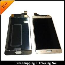 Adesivo + testati al 100% di Lavoro Regolabile Per Samsung J7 MAX A CRISTALLI LIQUIDI Per G615 J7 MAX Display LCD Touch Screen Digitizer montaggio