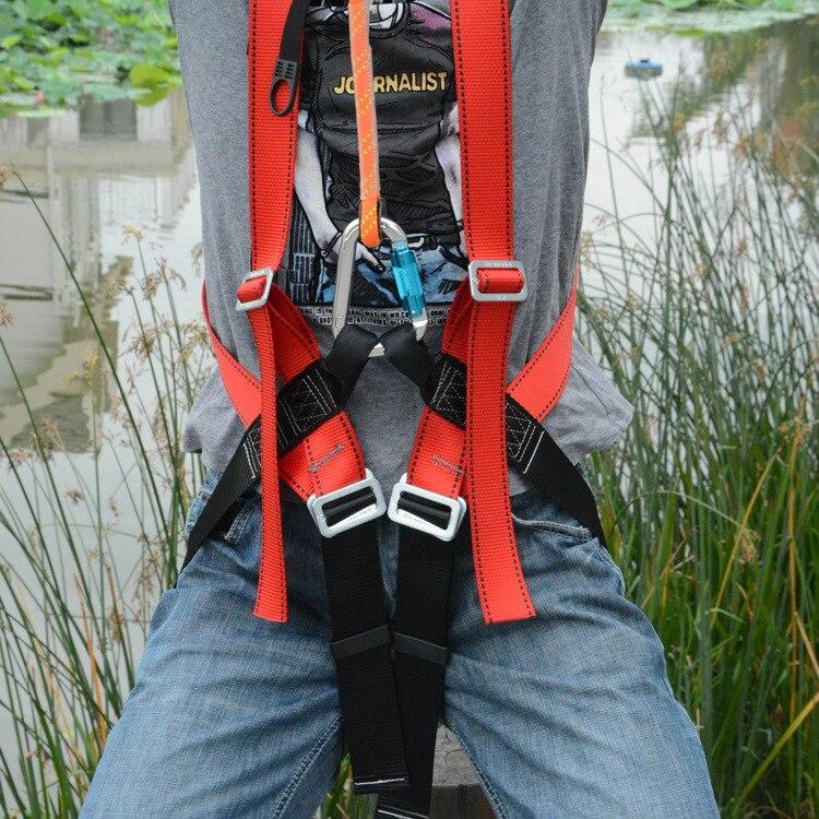 Cinturón de seguridad ASOL de cuerpo entero para escalada en roca cinturón de seguridad rápido para deportes al aire libre senderismo acampada montañero