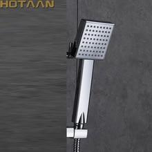 送料無料加節水シャワーヘッドabsクロームメッキ浴室ハンドシャワー水ブースターシャワーヘッドYT5108 A