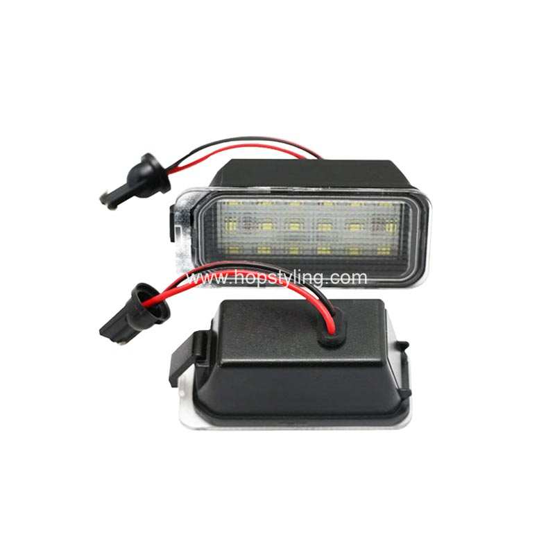 New Car styling For Fiesta Focus S-max C-max Kuga LED license plate lamp canbus No error code auto accessory