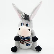Donkey with Flapping Ears Talking speaking plush toys singsing stuffed animals  for children girls boys baby Tiara
