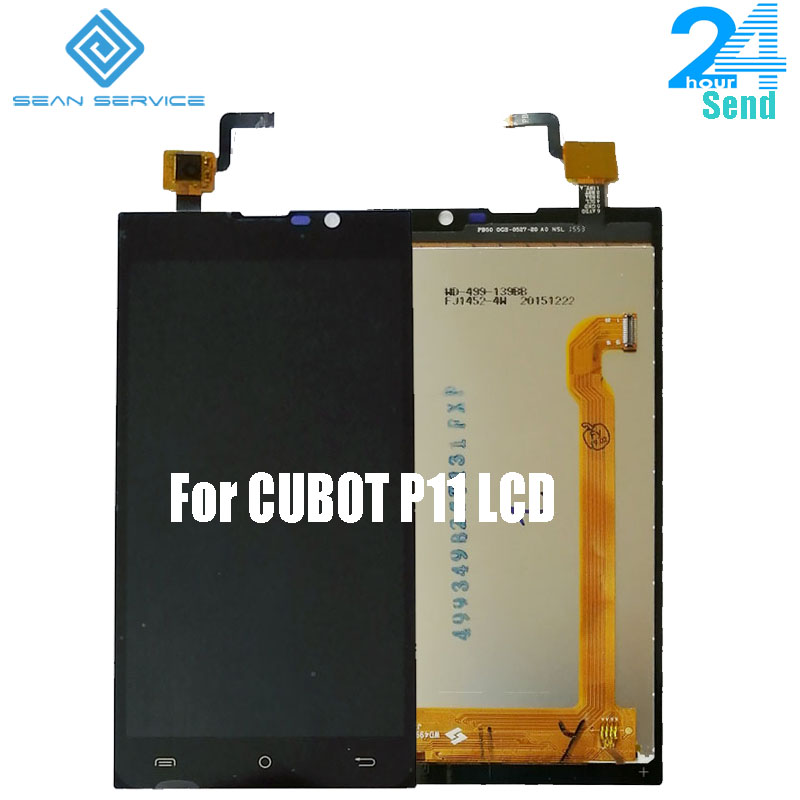 5.0 inch For Original Cubot P11 LCD Display With Touch Screen Digitizer Assembly Replacement Parts +Tools Stock(China)