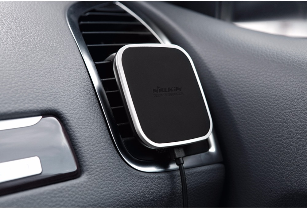 Nillkin car QI Wireless Charger Holder Magnetic Air Vent Mount pad - Mobile Phone Accessories and Parts - Photo 4