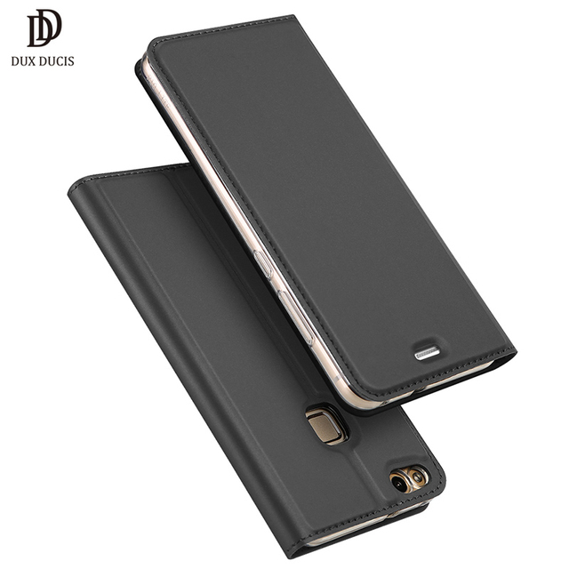 on sale 1cdc5 83b38 US $8.99 40% OFF|Huawei P10 Lite Case 2017 Luxury Flip Leather Case For  Huawei P10 Lite Wallet Book Cover Hawei P10 Lite P10Lite 5.2