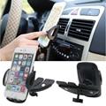 Slot Para Leitor de CD Auto carro Montar Titular Cradle Suporte Para Celular Smart Phone GPS