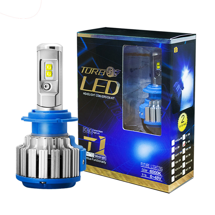 Car Lights 2pcs H4 Hi Lo Beam Led H11 H8 Hb4 H1 H3 Hb3 Auto S6 Car Fog Headlight Bulbs 8000lm Car Styling 6000k Led Automotivo Automobiles & Motorcycles