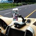 Cobao universal car mobile phone holder stand secretária painel pegajoso montar clipe suporte para iphone 5 5s 6 6 s plus galaxy s5 s6 s7
