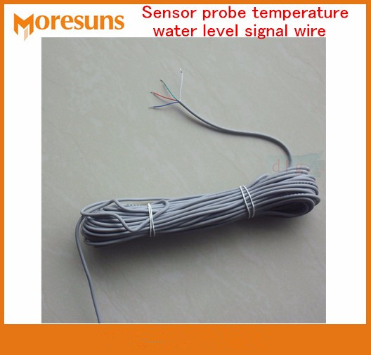 Fast Free Ship Solar Water Heater accessories probe/With 18M-20M 4 Core Soft silicone cable water temperature and level sensor