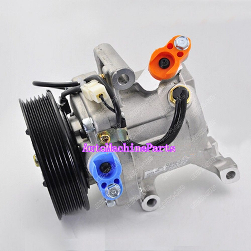 New AC Compressor 447260-0667 4472600667 For Toyota Passo Daihatsu Terios 07-10 передняя юбка обвеса tg lip toyota passo daihatsu sirion subaru justy perodua myvi