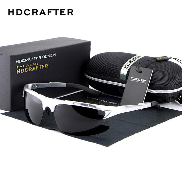 2017 new arrival moda marca designer óculos de sol dos homens polarizados óculos de sol masculinos com alta qualidade frete grátis