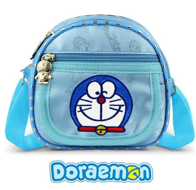2017 Gadis Oxford Kartun Doraemon Bordir Tas Utusan Tas Tas Kecil