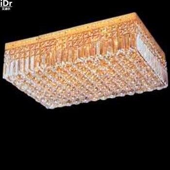 Goud plafondlamp Hedendaagse hotel slaapkamer lamp woonkamer verlichting Continental lichten 60 cm L x 40 cm W x 18 cm H
