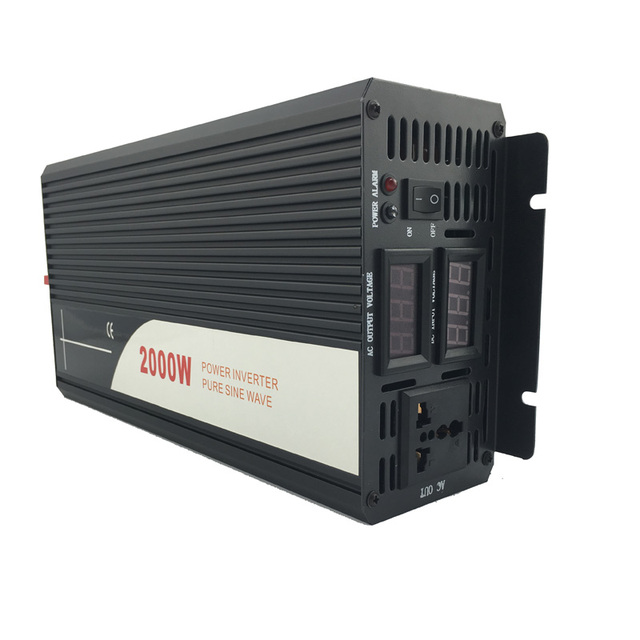 2000W pure sine wave solar power inverter DC AC 110V 1