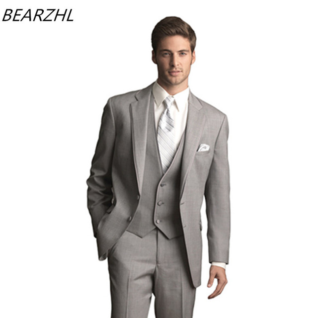 wedding suits for men tuxedo for groom suit high quality custom ...