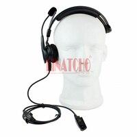 מכשיר הקשר איכות טובה אוזניות בצד אחד MTX850 PRO5150 GP328 GP338 מכשיר הקשר עם מיקרופון (3)