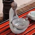 Ru фильтр для чая  фильтр для чая  ПЭТ керамический держатель для чайного фильтра  Ge фиолетовый керамический фильтр для чая