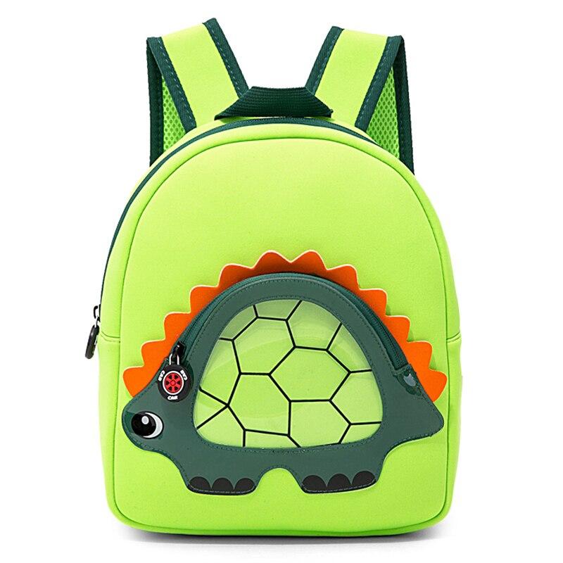 2020 NEW Little Stegosaurus School Bags For Student Kids Cute Dinosaur School Backpacks Boys Girls Animals Bag Mochila Infantil