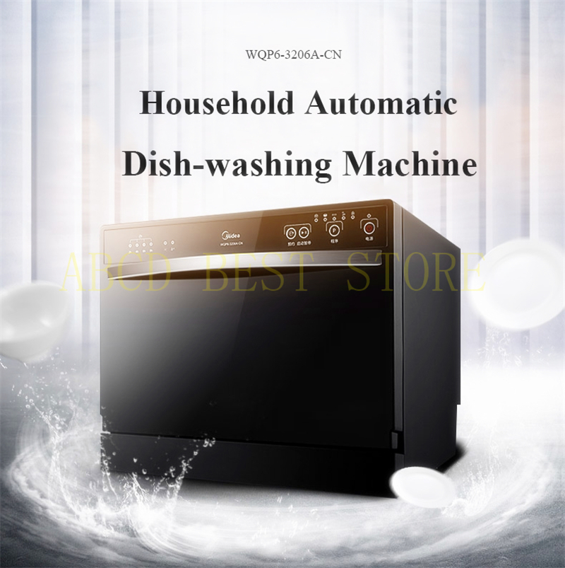 18 Mini Portable Intelligent Dishwasher Sterilization Disinfection Dryer Automatic Embedded Free Standing Dish Washer Machine jb 60шкатулка краб большой