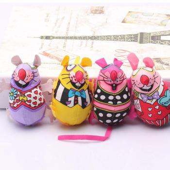 Pet Product Fat Cat Toy Fat Canvas Colorful Mouse With Cat mint Catnip Funny Brinquedos Para Gato Mouse