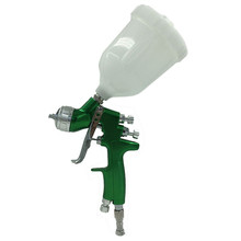 SAT1164 Spray Gun HVLP Spray Gun Gravity Feed Sainless Steel Nozzle 1.4mm Auto Car Face Paint Spray Gun цена и фото