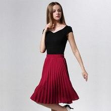 Women's Chiffon Pleated Skirt