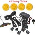best selling car Parking Assist System LED Display monitor Parking Sensor Reverse Radar Alert with 4 Sensors 44 colors