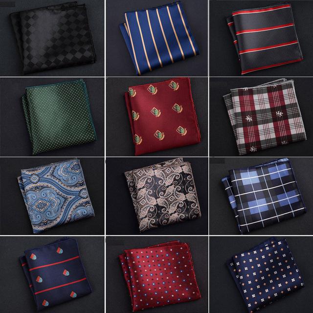Luxury Men's Handkerchief Pocket Square