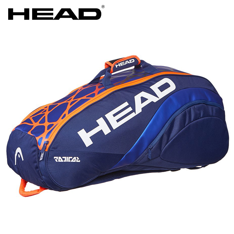 Buy Cheap 2019 New Arrival Head Murray Style Tennis Bag Racquet Sports Backpack Indoor Sports Bags For 6-9 Rackets