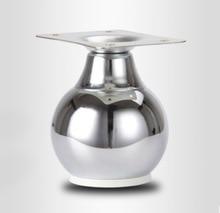 4 teile/los H: 9 cm Ball Geformt Schrank Sofa Beine Bad Tisch Füße Fuß