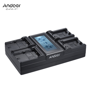 Image 1 - Andoer LP E6 LP E6N NPFW50 NP FW50 Digital Camera Battery Charger for Canon 5DIII 5DS 5DSR 6D 7DII 80D 70D for Sony a7 a7R etc