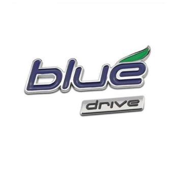 ABS Plastic Blue drive Car Sticker Emblem Badge Logo