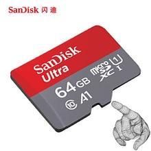 SanDisk 100MB/s 64GB Micro SD Card 256GB 128GB 64GB 32GB 16GB U1 Class 10 Memory Card microsd Flash Card