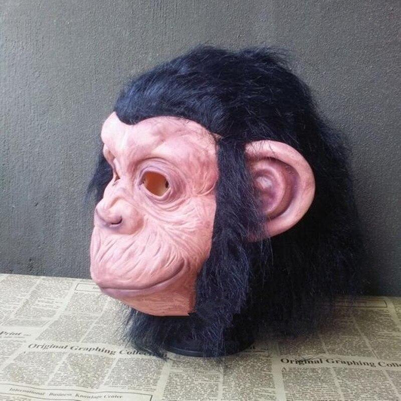 Grand Theft Auto Fantezi Elbise Maymun maskesi Şempanze Maskeleri - Tatiller ve Partiler Için - Fotoğraf 5