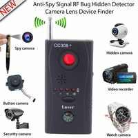 Anti-Spy Full Palette Bug CC308 + Mini Drahtlose RF Signal Kamera Detektor