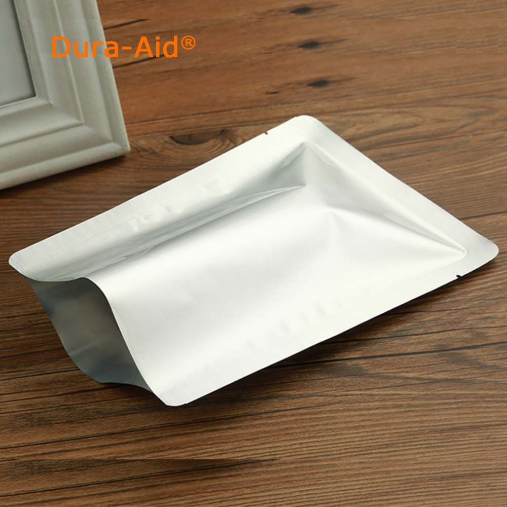 Us 14 8 20 200pcs Small Size Mylar Aluminum Foil Heat Seal Bags Vacuum Keep Aroma Oxygen Barrier Width From 5 50 Cm In Saran Wrap