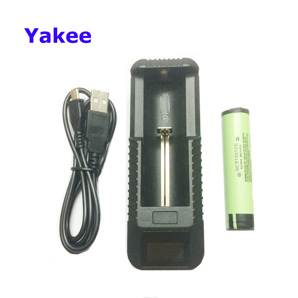 Original For Panasonic 18650 Battery With Usb Battery Charger 3400mAh NCR18650B 3.7V Li-ion Rechargeable batteries PCB Protected