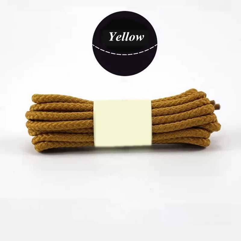 1 Pair Rotondo Scarpe Da Ginnastica Scarpe di Cuoio Martin Stivali Lacci Lacci Delle Scarpe per la Moda Casual Lunghezza 80/100/120/ 140/160 centimetri 14 Colori