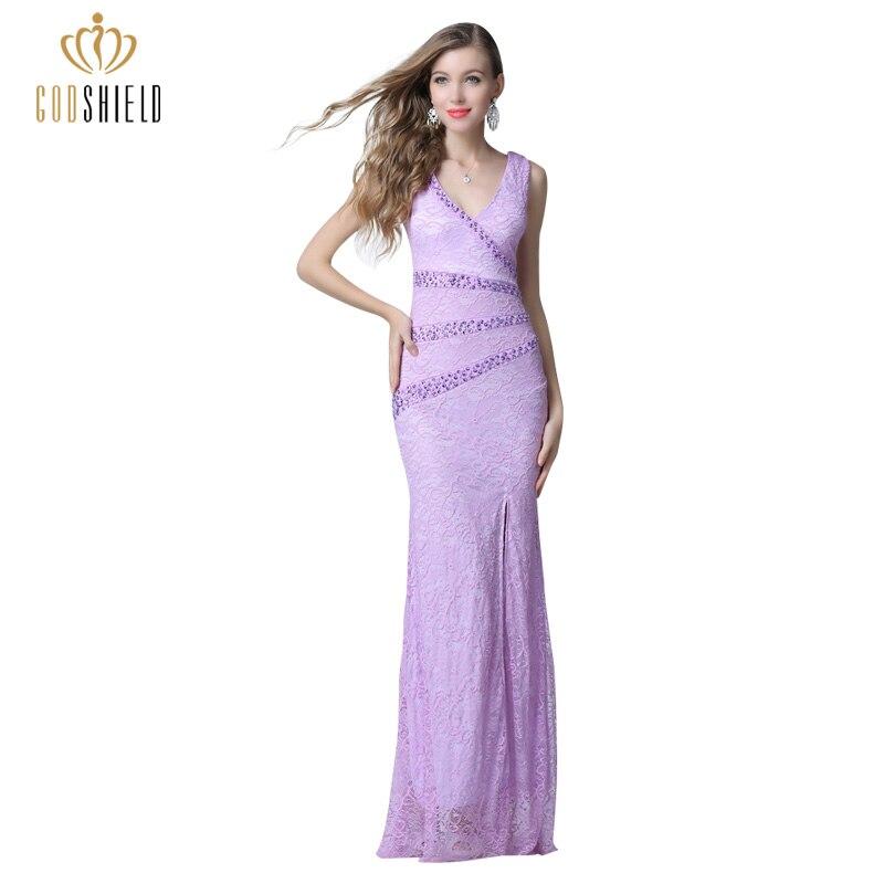 Encantador Profunda Vestido De Cóctel De Color Púrpura Ornamento ...