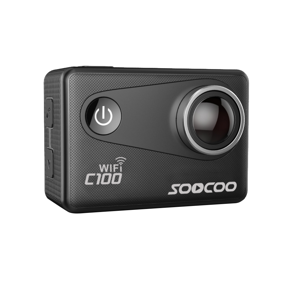 SOOCOO C100 Wifi Action Sports Camera 2.0 4K 24FPS 1080P 60FPS NTK96660 Built-in Gyro with GPS Extension(GPS Model Not include) soocoo c30 sports action camera wifi 4k gyro 2 0 lcd ntk96660 30m waterproof adjustable viewing angles